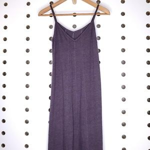 Chaser Maxi Dress Purple V Neck